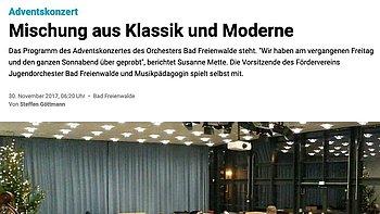 Mischung aus Klassik und Moderne – MOZ